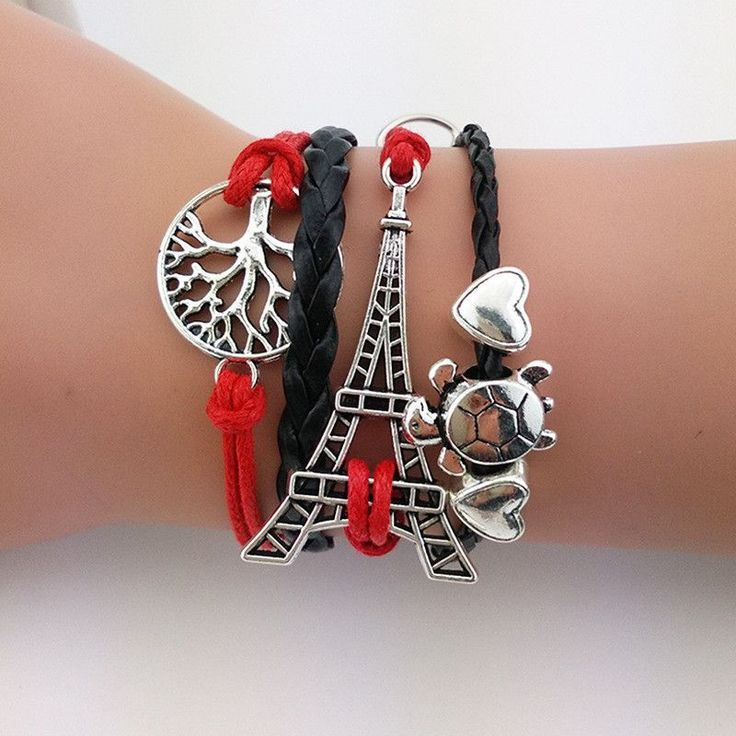 Just in! Eiffel Tower, Tur... You can get a closer look at http://sparkjewelry.net/products/eiffel-tower-turtle-tree-bracelet?utm_campaign=social_autopilot&utm_source=pin&utm_medium=pin