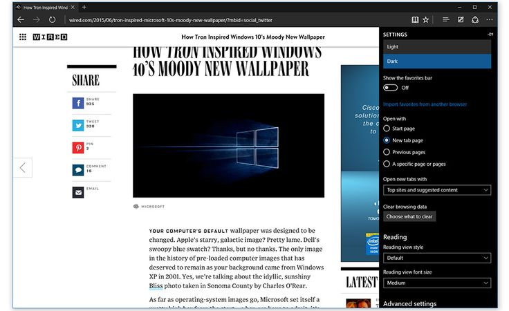 Windows 10 preview build comes with Microsoft Edge and WiFi