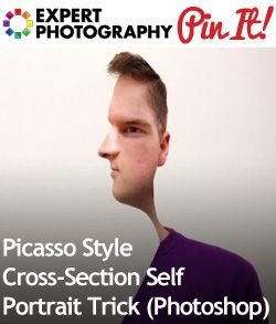 Picasso Style Cross Section Self Portrait Trick (Photoshop)