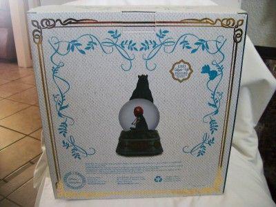 brave merida snow globes | Disney Store 2012 Brave Merida Princess Snowglobe Bear Lights New in ...