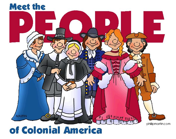 People - 13 Colonies - FREE Powerpoints for US History