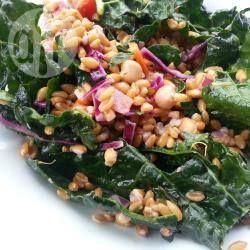 Spelt Salad with Kale, Carrots and Onions @ allrecipes.com.au