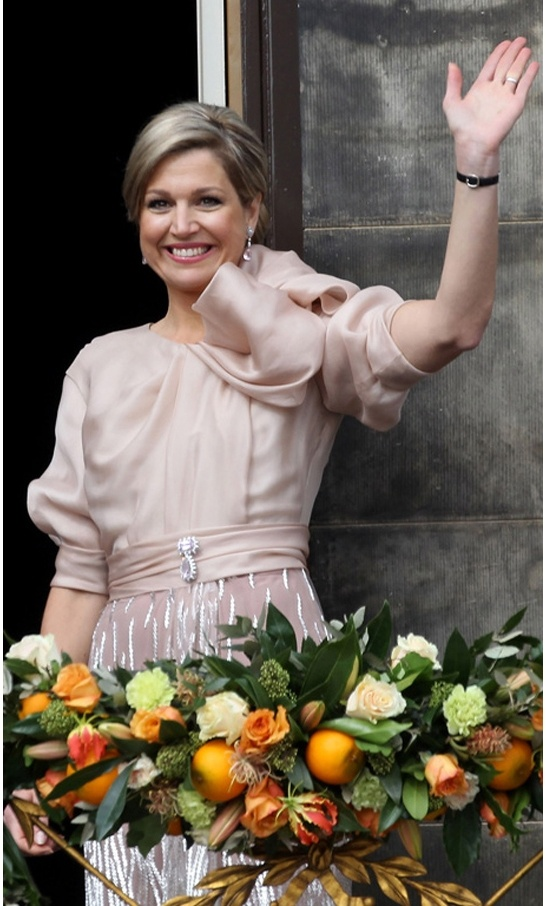 Our new Queen: Maxima 30 april 2013