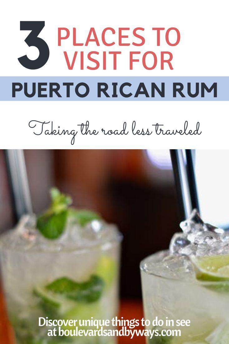 Puerto Rico has delicious rum but do you know the top 3 brands? http://boulevardsandbyways.com/blog/puerto-rican-rum-history-gastronomy/ #rum #puertoricorum #ronbarillito #Bacardi #donq