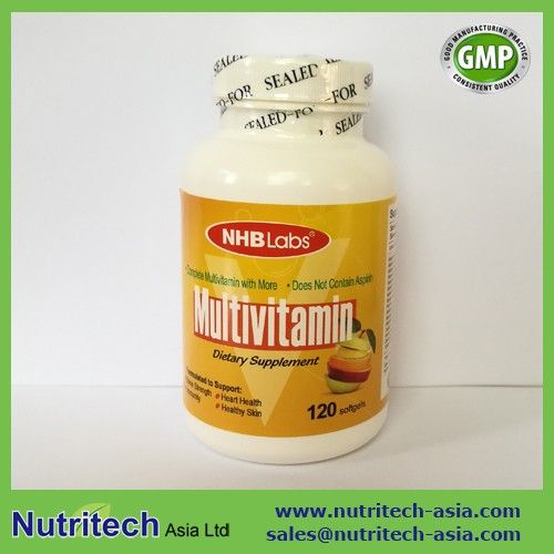 GMP Certified contract manufacturer/Private label Womens One Daily Multivitamins Tablets