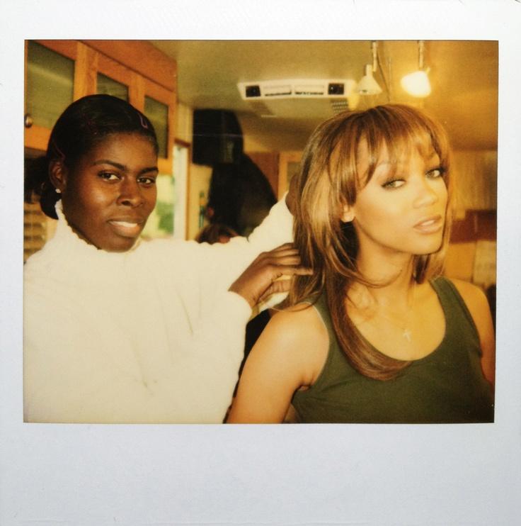 Hair Stylist Lisa Mitchell & Tyra Banks