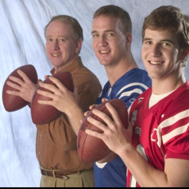 Archie Manning, Peyton Manning, Eli Manning