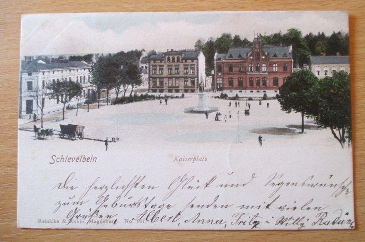 alte Ansichtskarte Schivelbein Świdwin Westpommern 1902 gelaufen | eBay