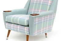 Love these woollen blanket covered retro chairs. Made in Taihape, NZ!