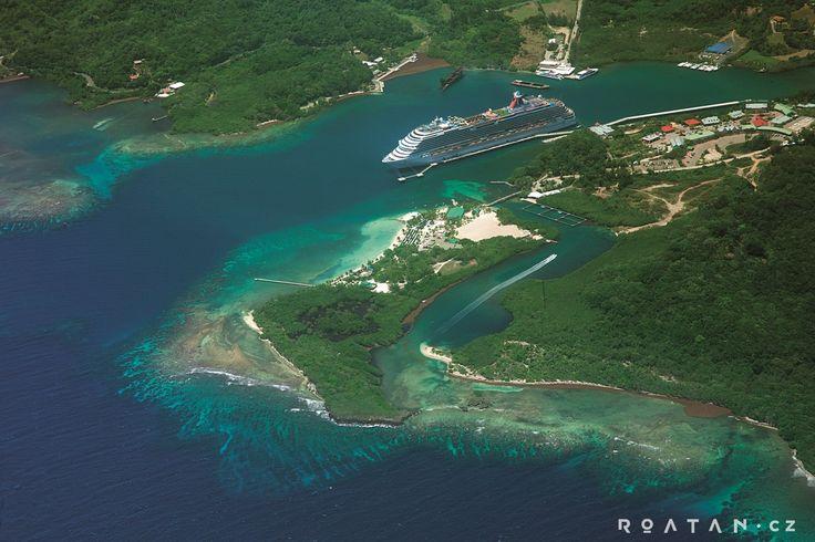 Mahogany bay - ostrov Roatan