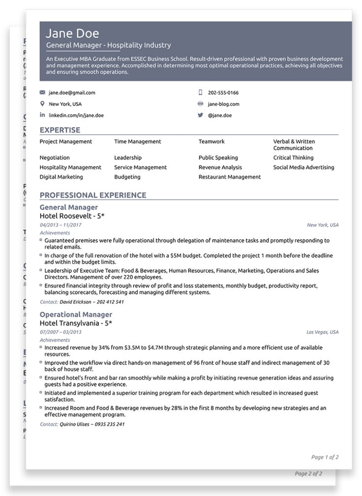 14+ Functional resume template 2020 Format