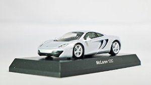 Kyosho 1/64 MiniCar Collection McLaren Model D 12C Silver (japan import) Mini Diecast Racing Car Figure