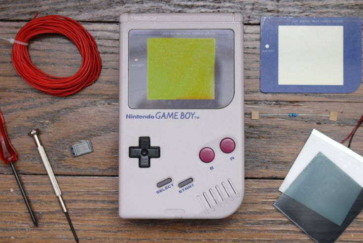 Game Boy modding at HandHeldLegend.com