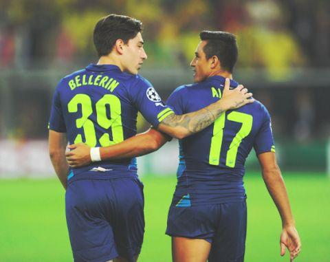 Alexis Sanchez and Hector Bellerin // Arsenal ✿. ☺ ☻