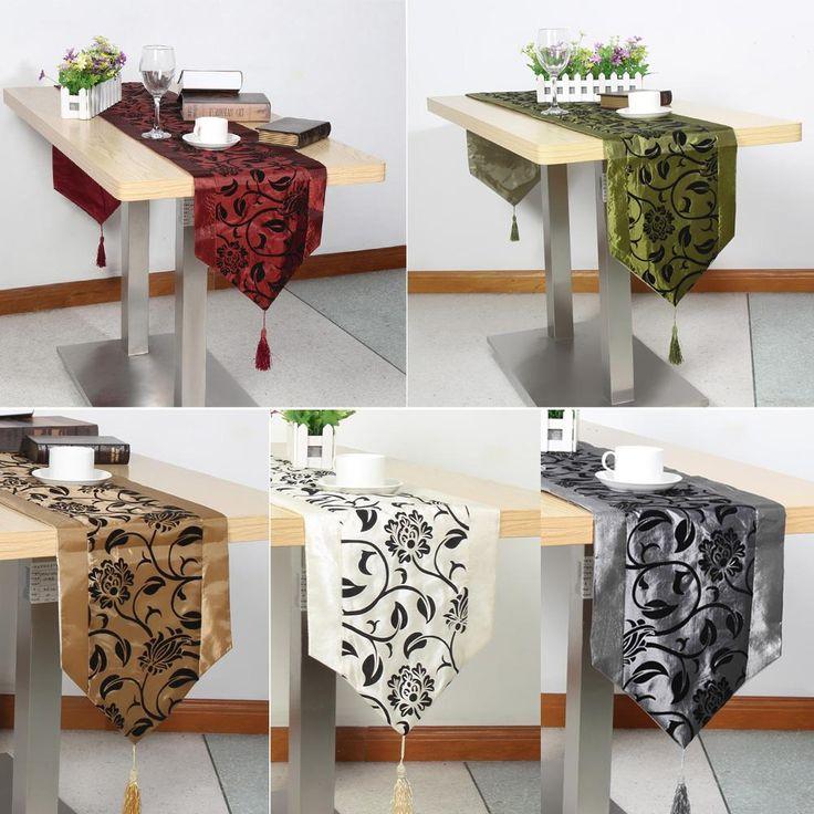 European flower blossom tablecloth · weihnachtliche tischdekorationweihnachtstischestoffblumentischläuferdesigner tischtischdeckenküchenzubehörküche