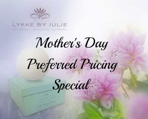 Mother's Day Preferred Pricing   Take advantage of our special Mother's Day pricing. Give a gift that keeps on giving. Our Konjac Sponge is 100% Natural and is perfect for any skin type. bit.ly/1ImRtO8