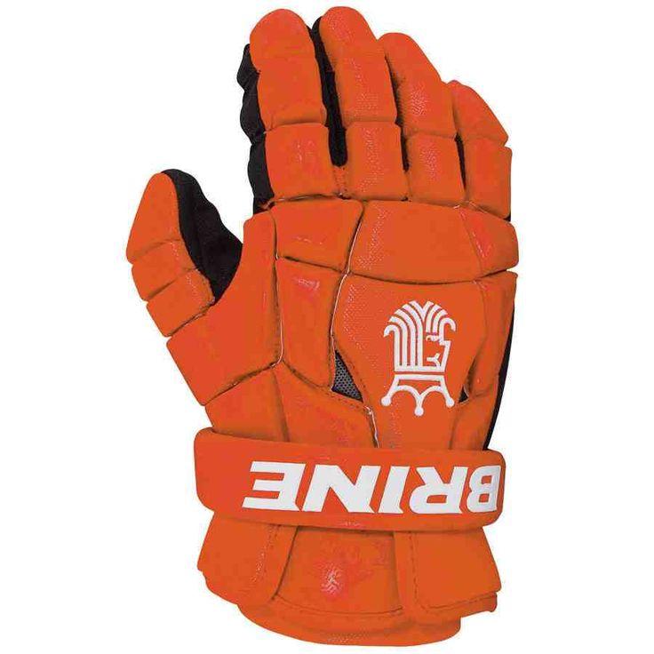 Orange Lacrosse Gloves