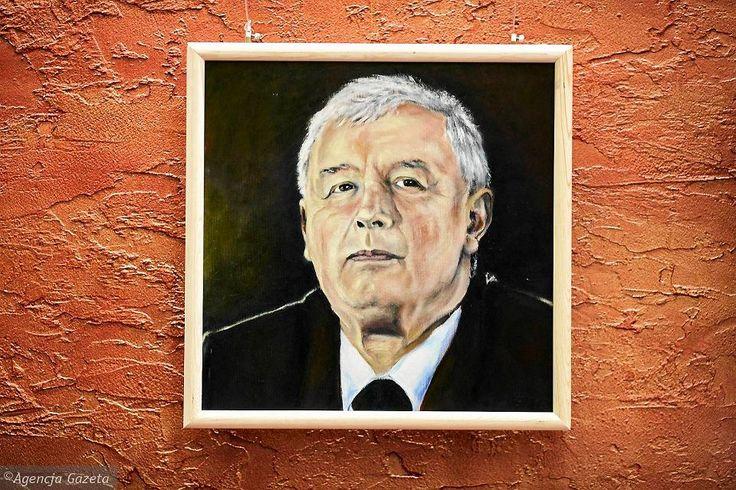 Zdjęcie numer 13 w galerii - Jarosław Kaczyński na 35 portretach. Kim są autorzy? [ZDJĘCIA]