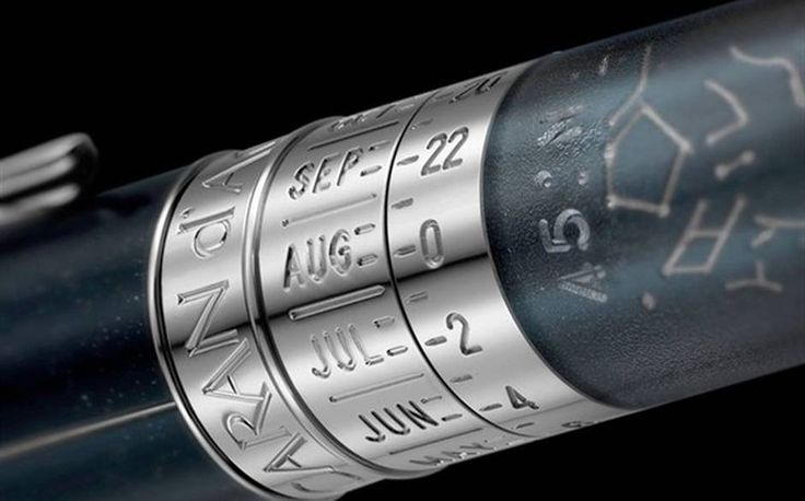 What better gift for a Gemini or 3rd house person interested in astrology or astronomy than a pen that charts the stars?