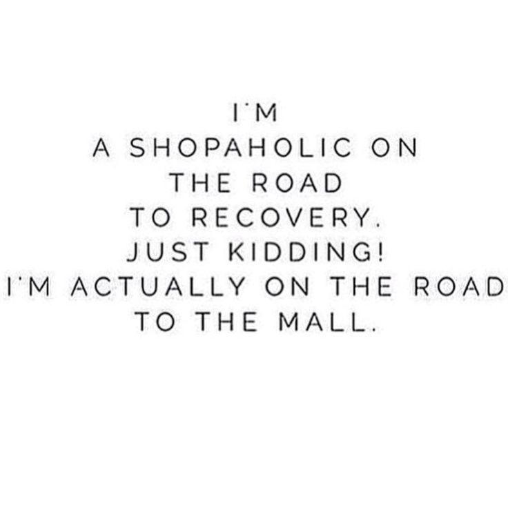 #FashionQuote #Shopoholic #qotd
