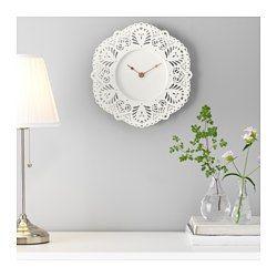 IKEA - SKURAR, Wandklok, Geeft de tijd zeer exact aan, omdat de klok is voorzien van een kwarts uurwerk.