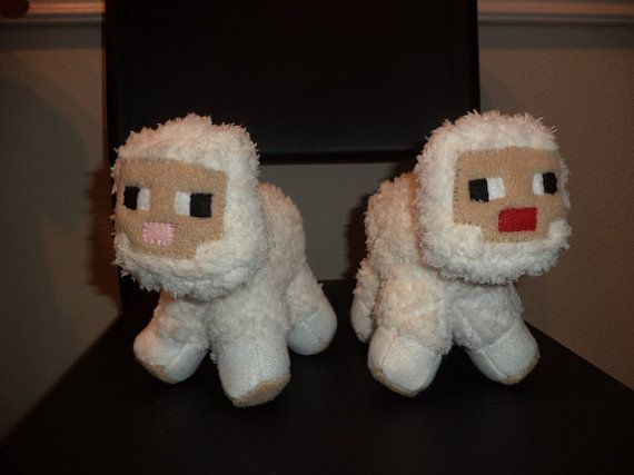Minecraft Mini Ivory Sheep Plushie - Etsy 20 ___ This item has been removed by Minecraft for copyright infringement. To learn more visit http://minecraft451.tumblr.com