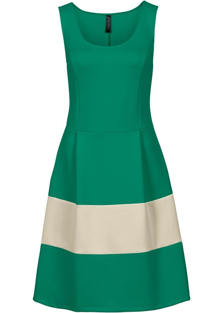 Jurk mintgroen/ecru - BODYFLIRT boutique nu in de onlineshop van bonprix-fl.be vanaf 29,99 ? bestellen. Casual chic voor de zomer! Modieuze jurk van een ...