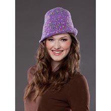 "Free pattern for ""Lady Spy Hat""!"