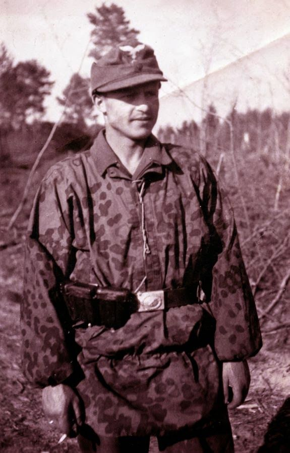 1st Fallschirm-Panzer Division Hermann Göring (wearing a ...
