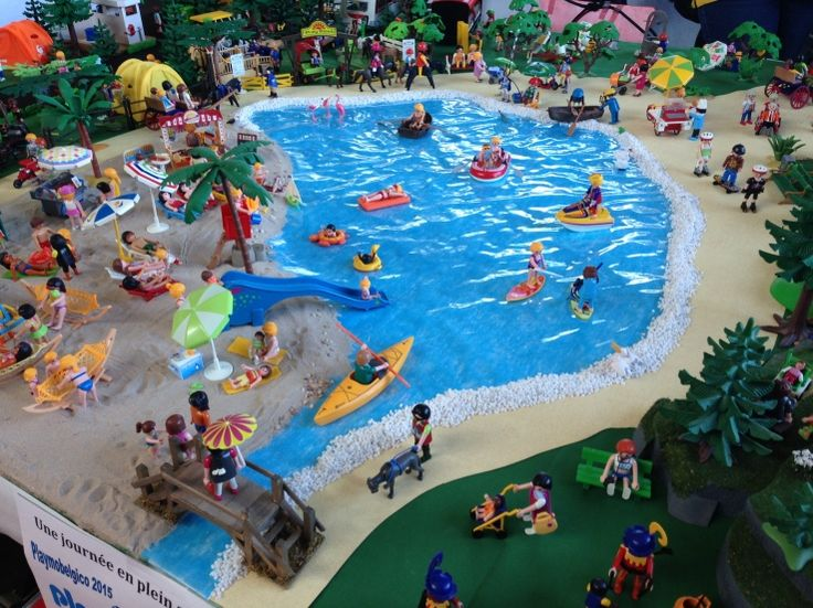 Playmobil Beach Diorama