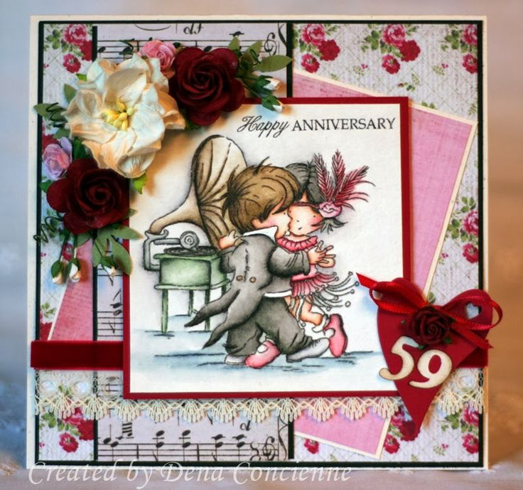 LOTV - Charleston Stamp using papers from the Heartfelt pad by DT Dena
