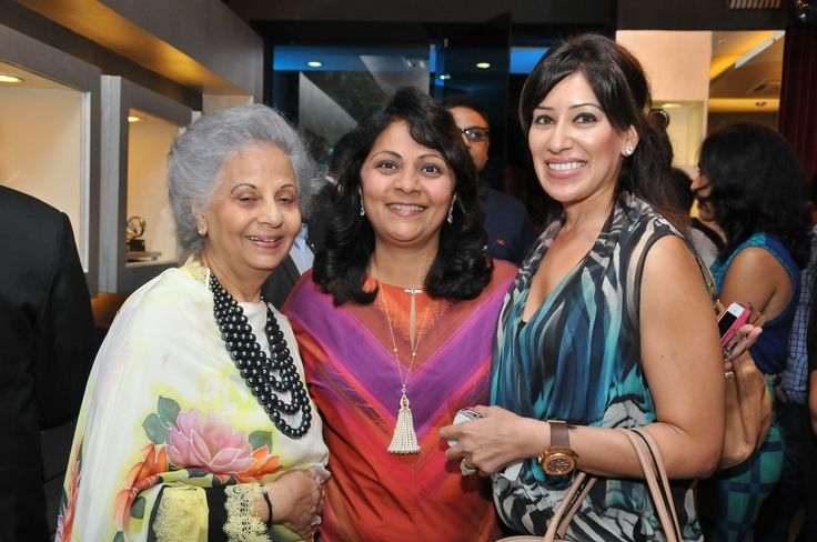 Ms. Maheka Mirpuri & Mrs Purnima Sheth at Rose - The Watch Bar