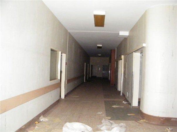 Hospital hallway, Kempton Park Hospital