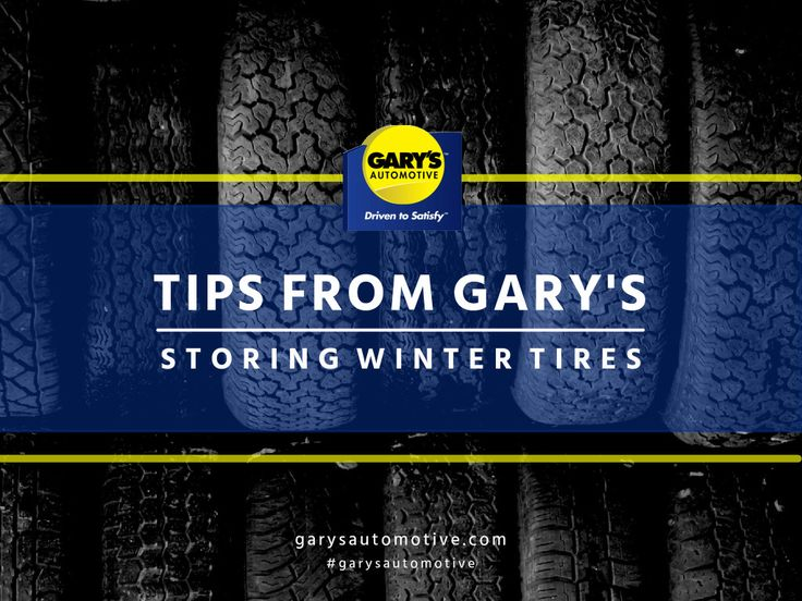 BLOG | It's that time of year again where the snow goes away and so do your winter tires. Here are some tips on storing winter tires. #garyautomotive #garysottawa #wintertires