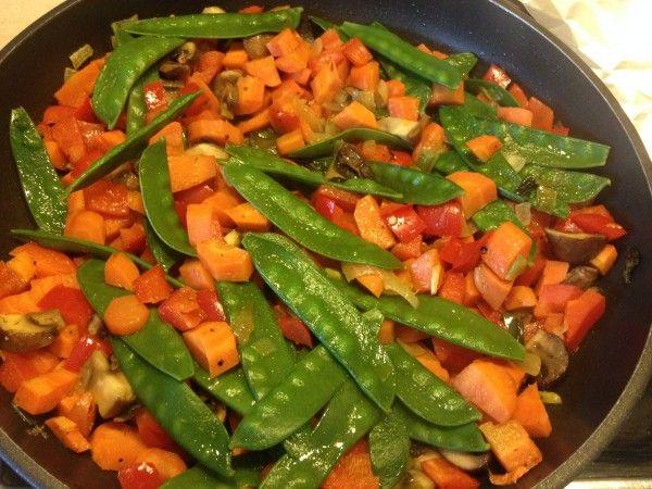 Basische Gemüsepfanne