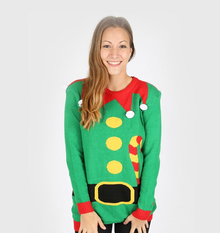 Get the latest elf ugly christmas sweater for your party. Ugly sweater for the Christmas party! Collection of Christmas santa elf body headless elf sweaters and Xmas jumpers for both men and women for the ugly sweater party day At uglychristmassweatersale.com  Ugly Christmas sweater, Christmas sweater, party costume, diy Christmas, tacky, funny, cheap ugly sweater
