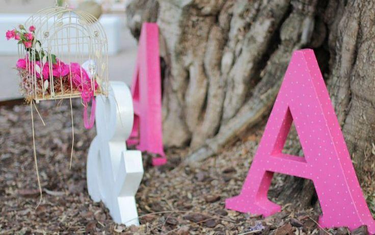 Hermoso detalle de decoración para una boda.