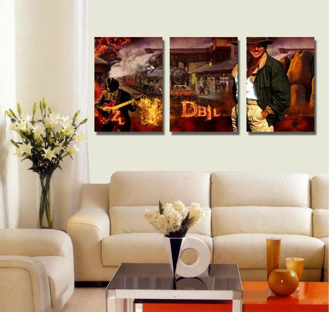 Фильм настенная живопись главная декоративные аватар печать на холсте отделка стен фильм звезда том круз фотографии