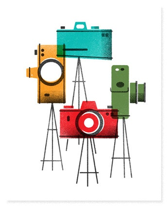 The Heads of State Poster: Camera Print