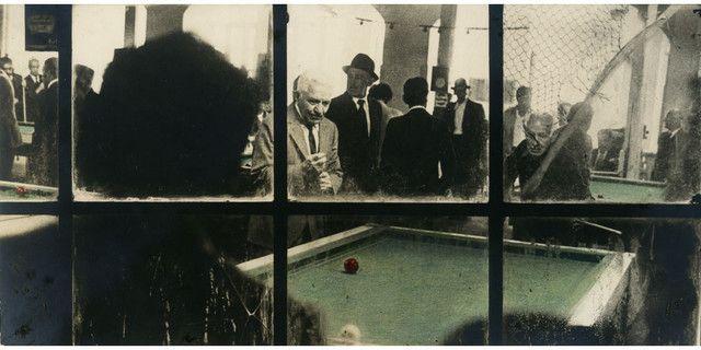 """Fernell Franco, Série """"Billares"""", 1985, tirage d'époque rehaussé par l'artiste, Collection Motelay"""