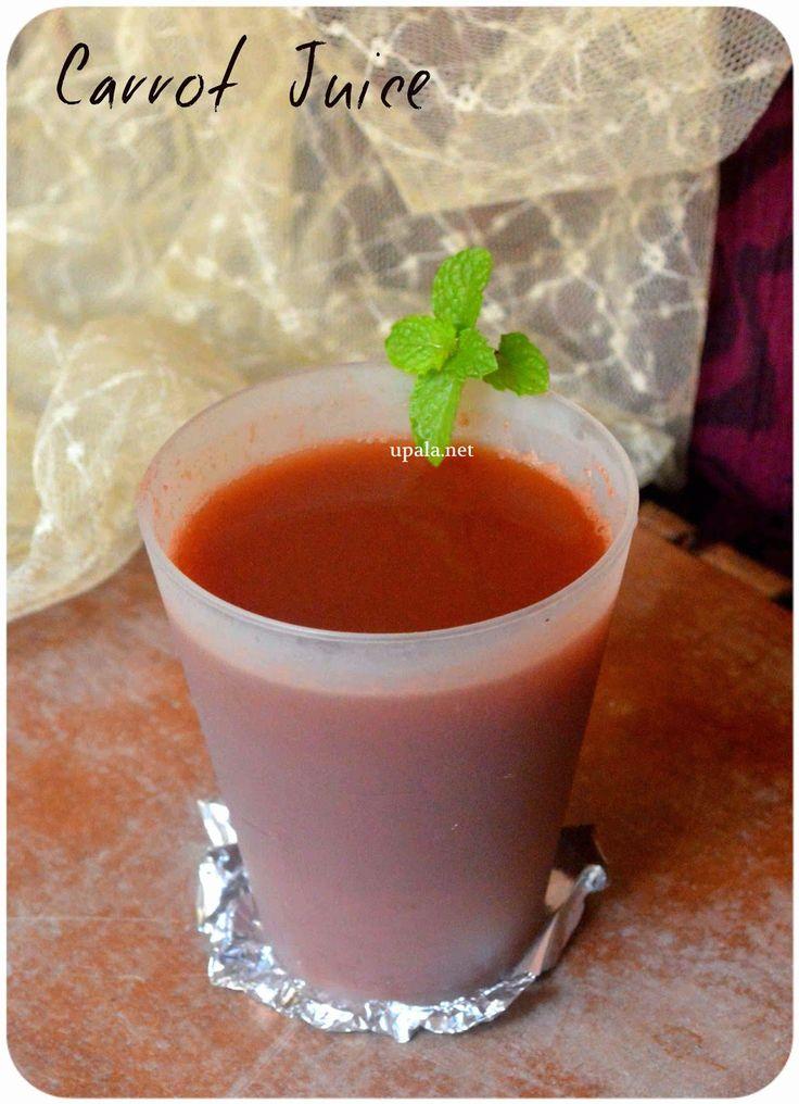 Carrot juice (mint flavour) http://www.upala.net/2015/04/carrot-juice-mint-flavour.html