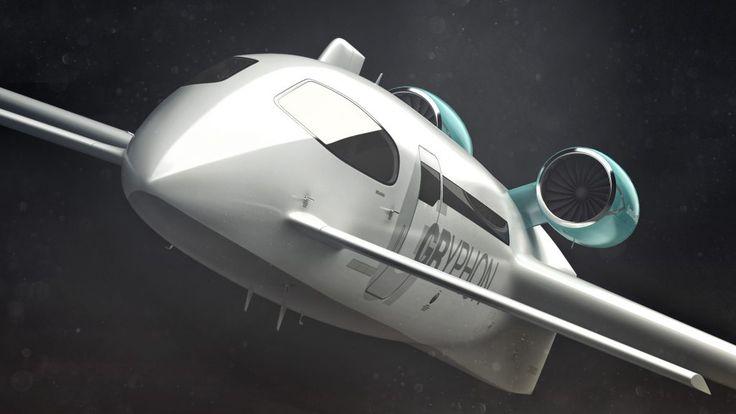 Grpyhon business jet concept aircraft, Samuel Nicz