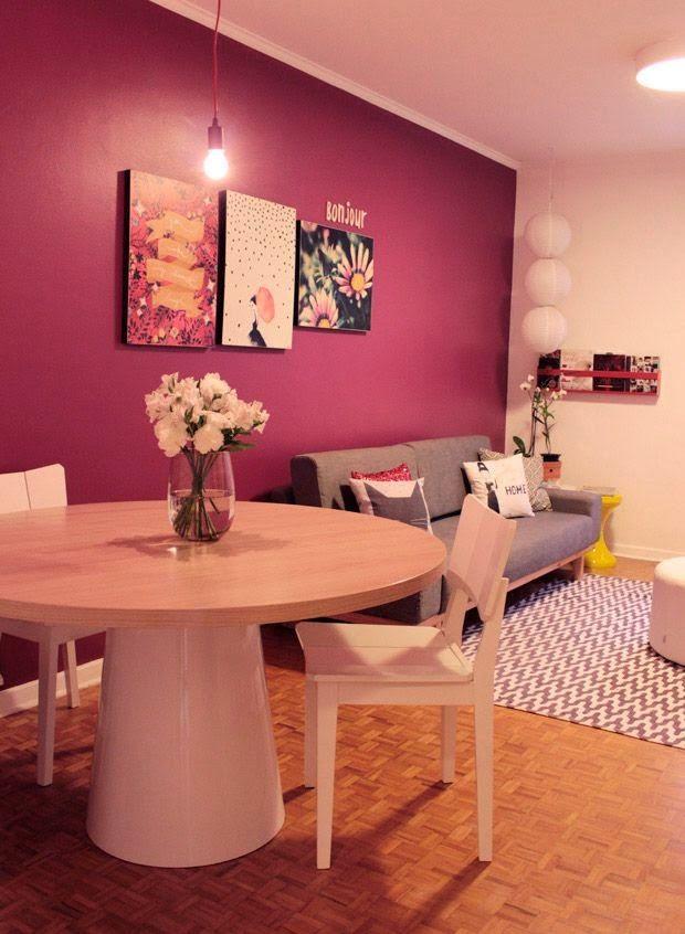 Sala De Estar Cor De Rosa ~ sobre Salas De Estar Cor De Rosa no Pinterest  Paredes cor de rosa