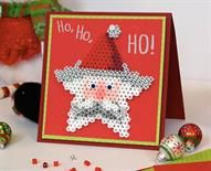 Santa Star Card Designed By Lennis Rodriguez This cute Santa Star Card with its happy holiday message features a detachable ornament for the recipient to hang on their tree! Perfect for kids to make for friends or family. :-)