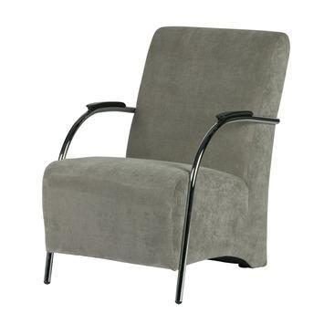 WOOOD fauteuil Halifax ribcord vergrijsd groen kopen? Verfraai je huis & tuin met Fauteuils van KARWEI