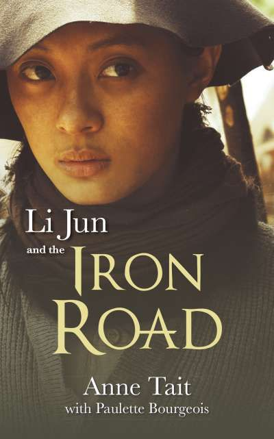 Li Jun and the Iron Road by Anne Tait | Little Tiger's father left for Canada years ago, never to be heard from again. When her dying mother sends Little Tiger to find him, she finds work on the Canadian railway, disguised as a man. Threatened by prejudice on all sides, Little Tiger's troubles reach a breaking point when the privileged son of a railway tycoon takes an interest in her. #YA #historical