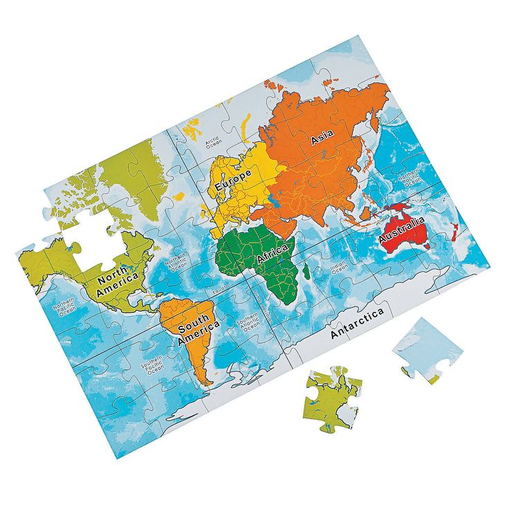 Best 25 world map puzzle ideas on pinterest come fly with me large world map puzzle orientaltrading gumiabroncs Images