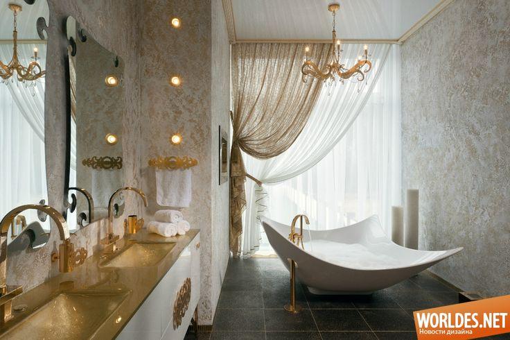 Роскошные ванные комнаты фото 29