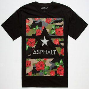 ASPHALT YACHT CLUB Delta Force Camo Mens Reflective T-Shirt