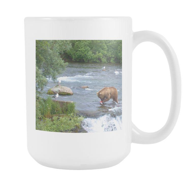 Alaskan Brown Bear 15 oz Mug
